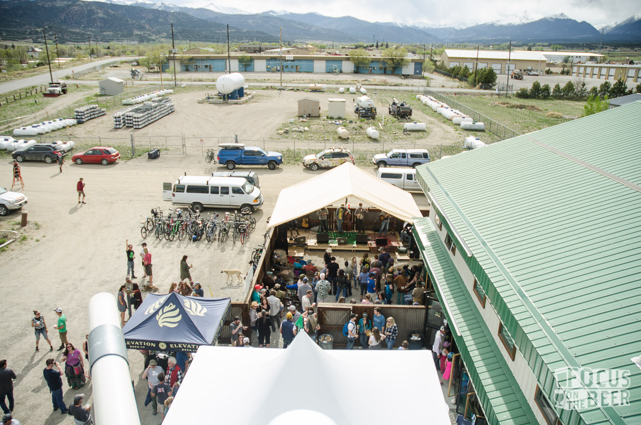 The view from atop Elevation's grain silo.