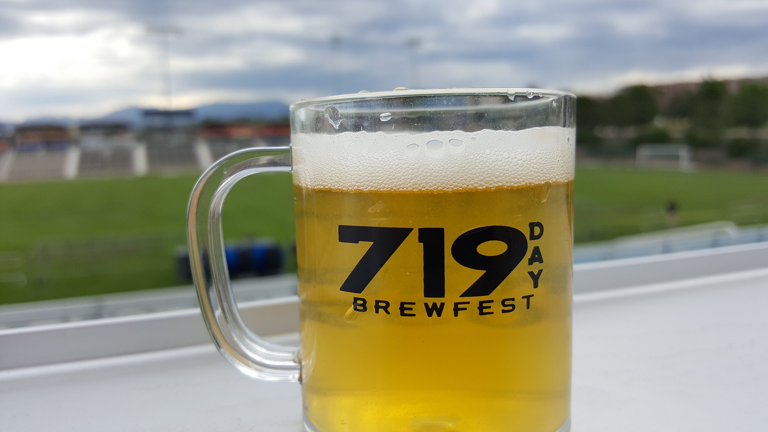 719 Day glass with storm clouds in the background