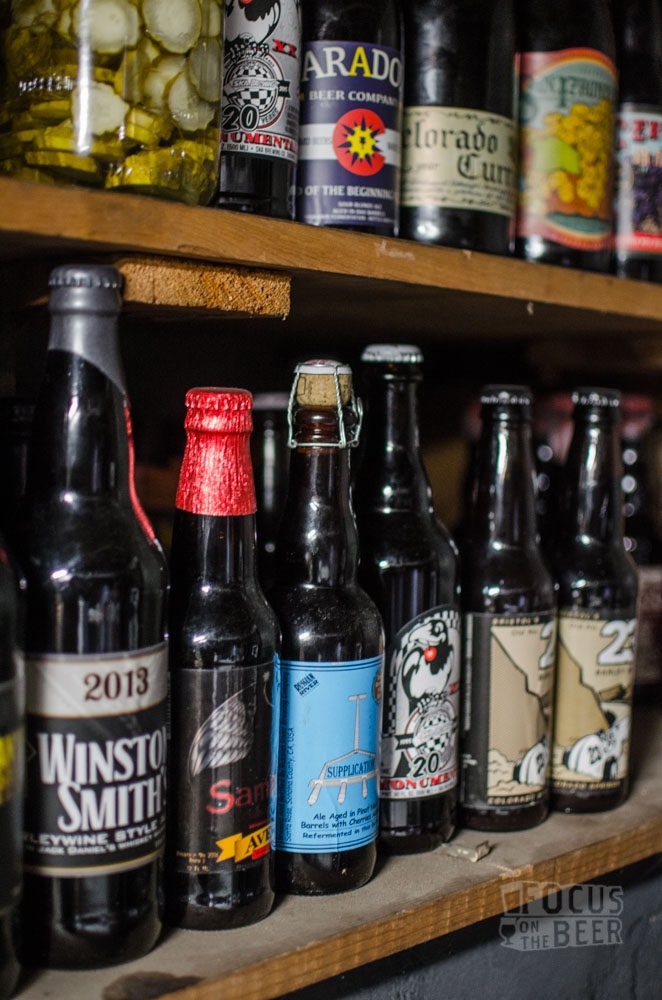 I tend to age barleywines,  sours and imperial stouts, as well as the occasional pickles.