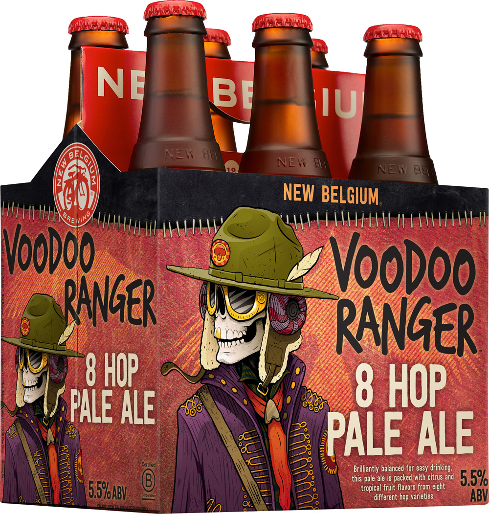 New Belgium's new Voodoo Ranger lineup comes out soon!