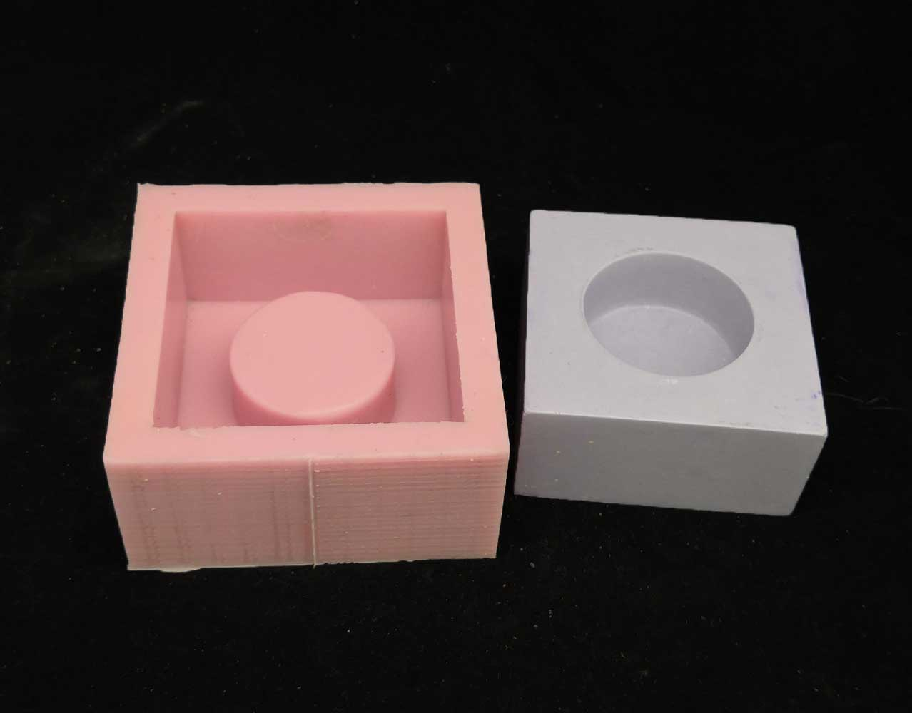 Candle Holder Silicone Mould Nedevdesign