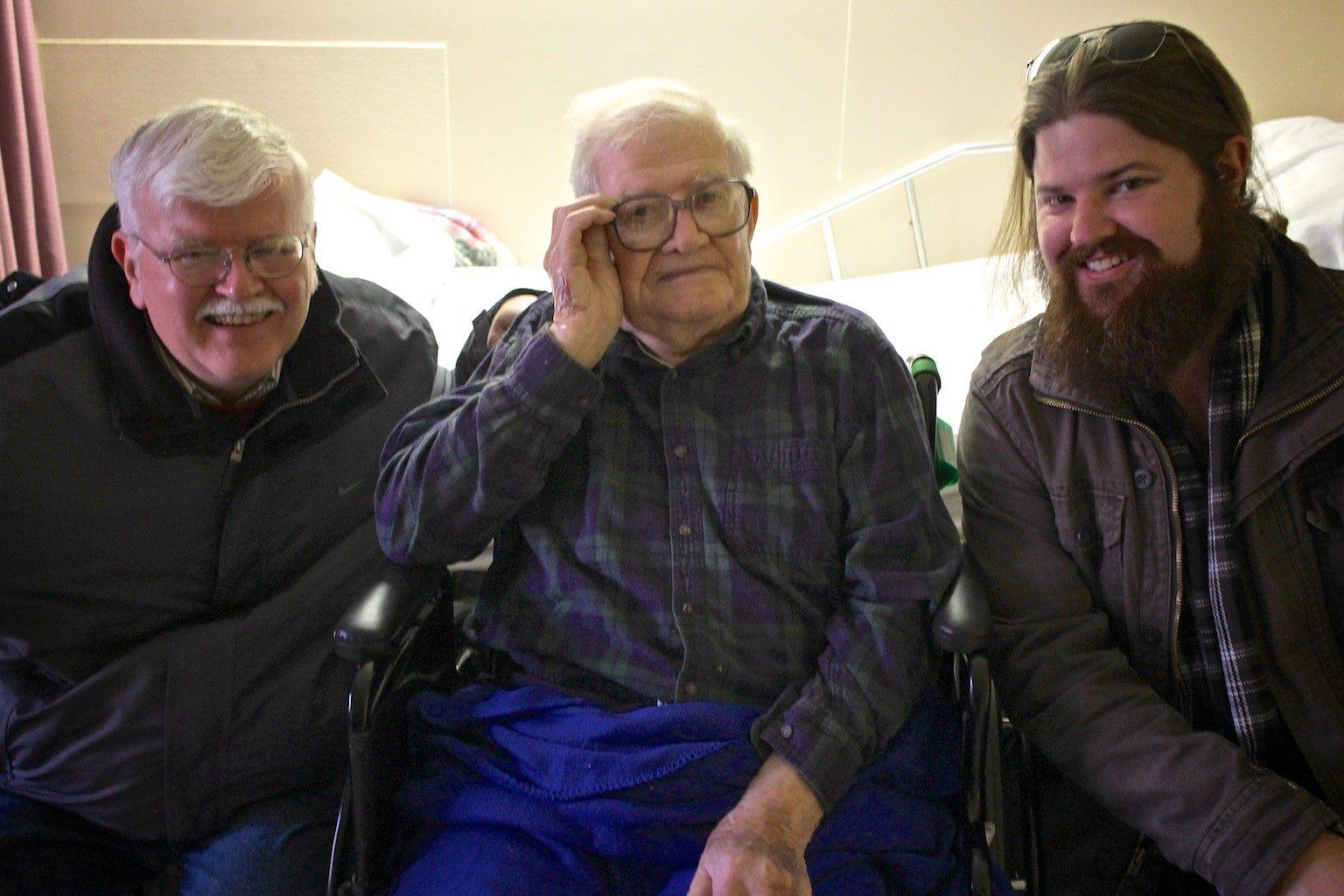 3 generations of slabaughs