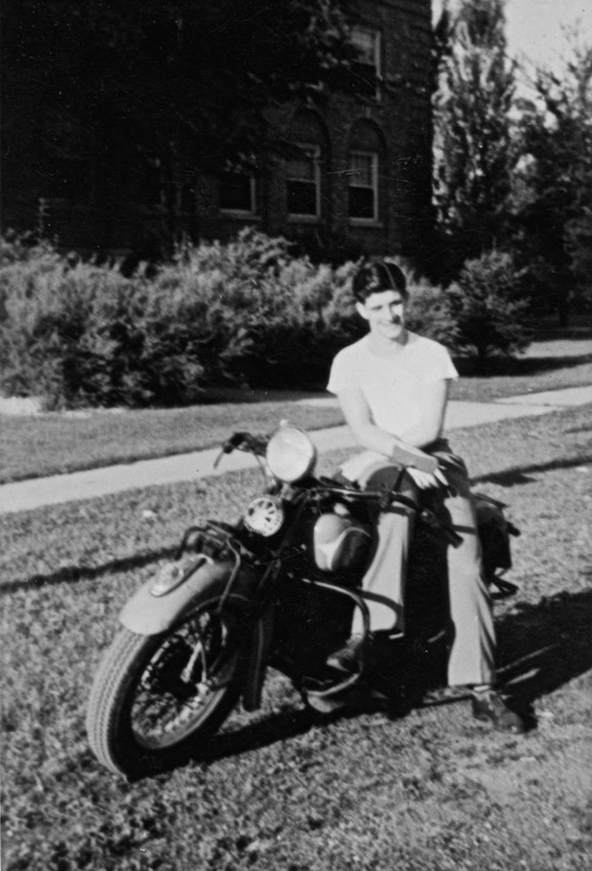 grandpa on his 1930s Indian motorcycle_2