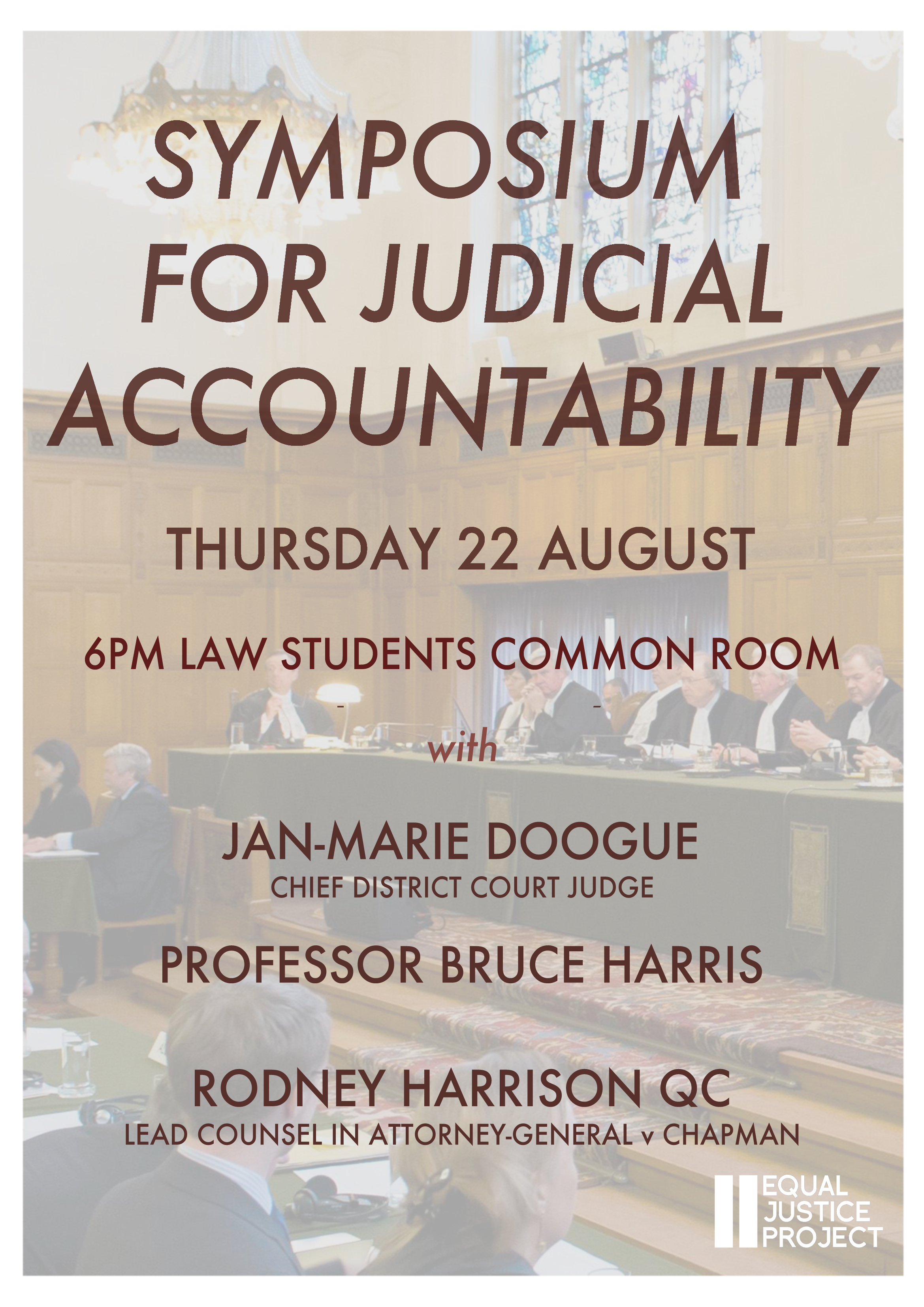 Symposium on Judicial Accountability
