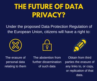 The future of data privacy-