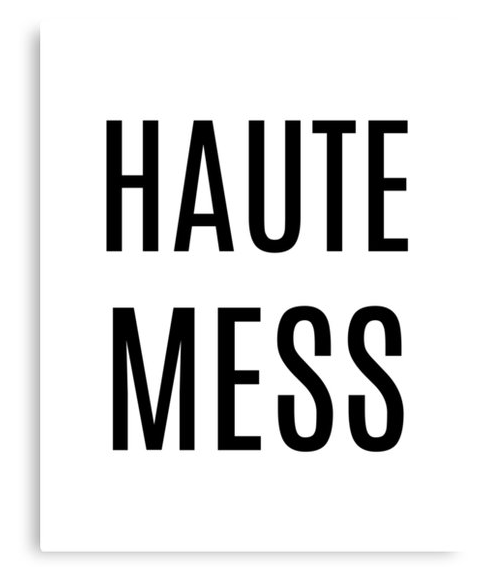 haute_mess_canvas_print