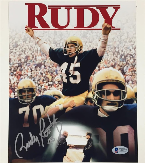 Rudy the movie poster