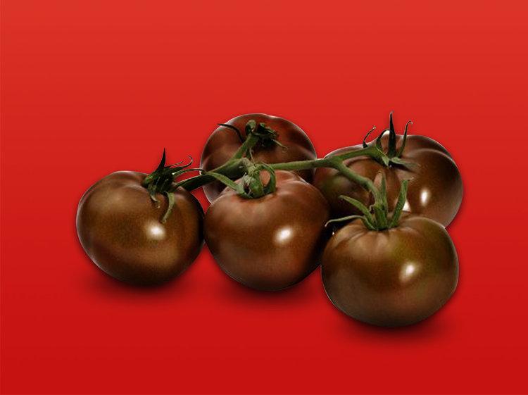 Tomate grappe noire (Métisse)