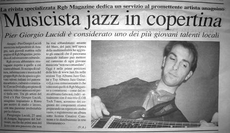 Il Quotidiano di Frosinone e Provincia - 12 December 2006 - Click to read this article