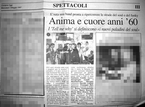 Ciociaria Oggi 7 Maggio 1997 - Click to read the article