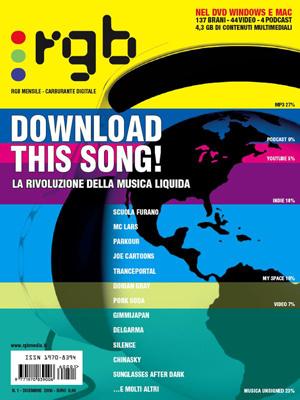 RGB Magazine - 001 - Dicembre 2006 - Cover