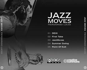 JazzMoves CD Inlay example
