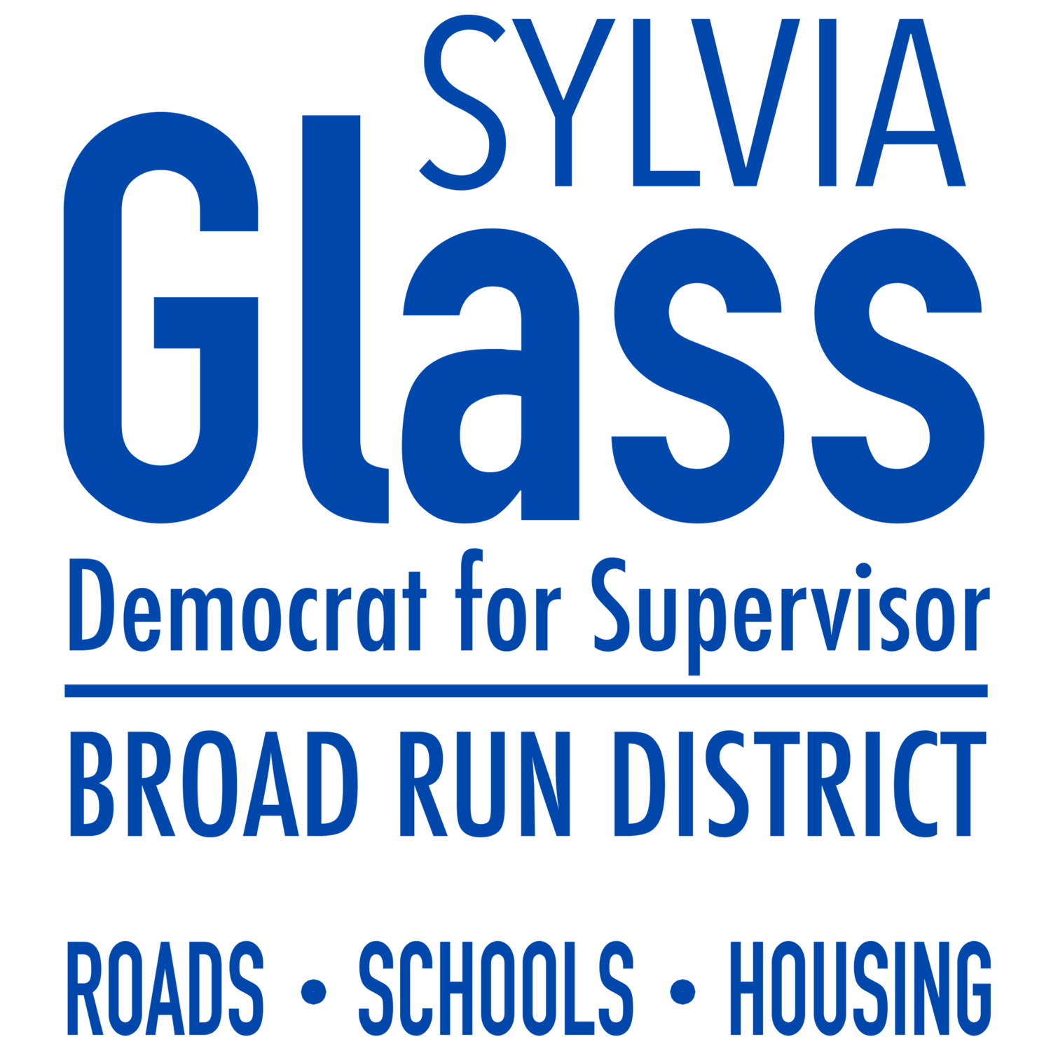 Sylvia Glass for Supervisor