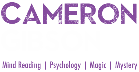 Cameron Gibson - Scottish Magician and Mind Reader