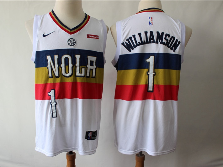New Orleans Pelicans Jersey Heights