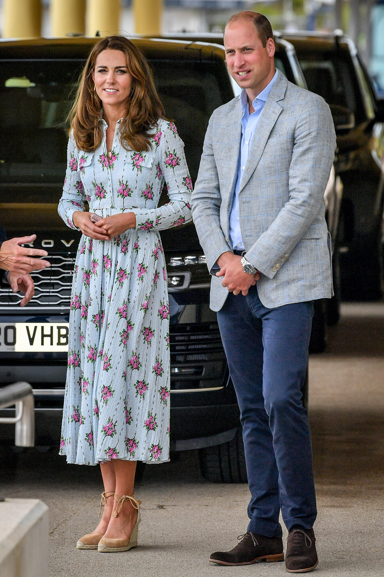 The Duke and Duchess of Cambridge Visit South Wales — Royal ...