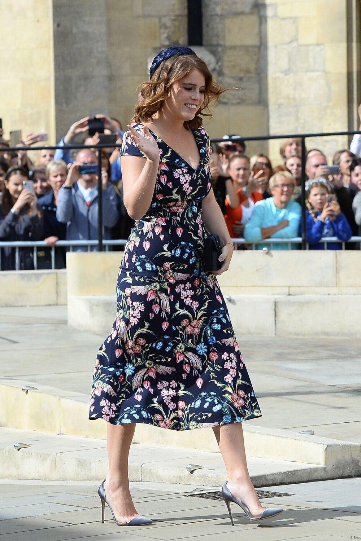 Princess Eugenie Attends Ellie Goulding S Wedding Royal