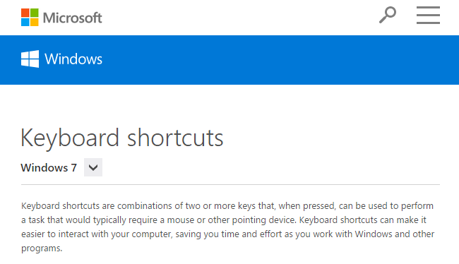 Work Faster With Keyboard Shortcuts
