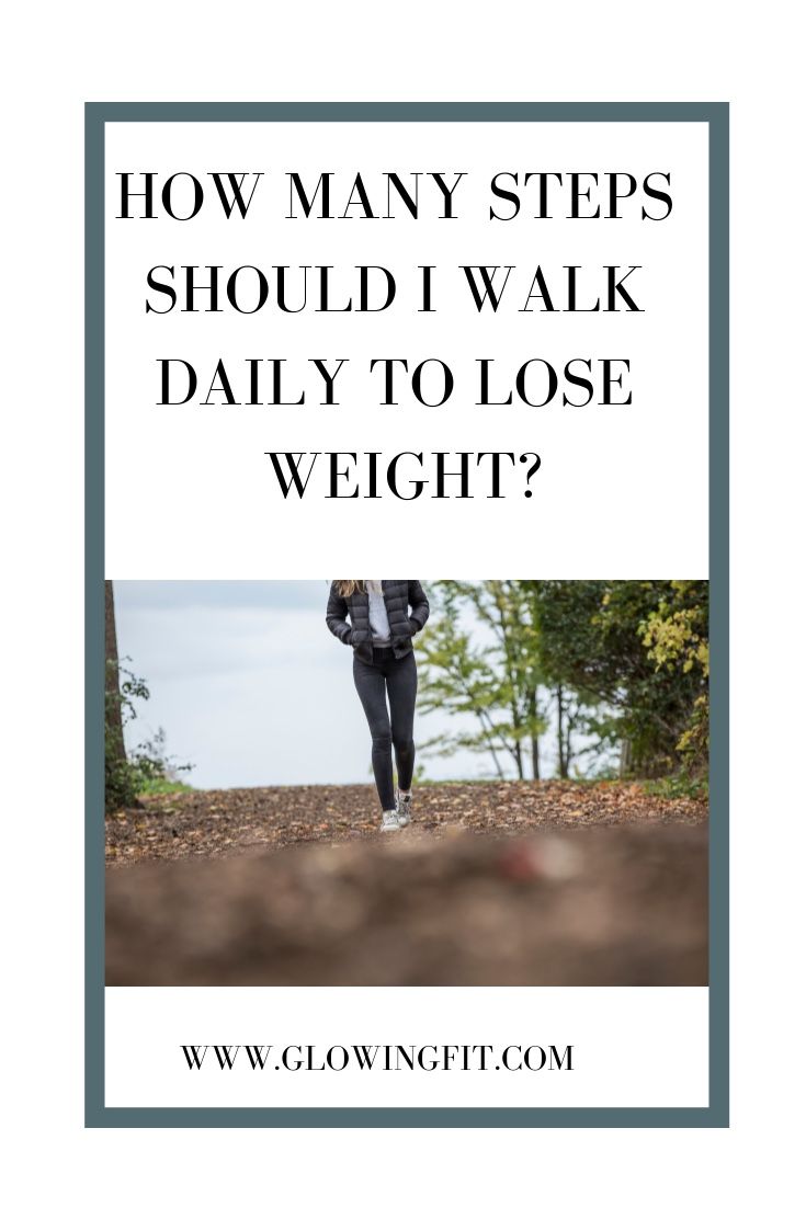 number of steps to reduce weight