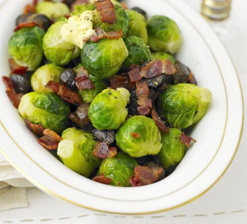 bacon-sprouts