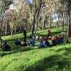 More learning on Country along the Merri Merri w Uncle Bill Nicholson from Wurundjeri Tribe Land Council #careforcountry #murnong #wurundjeriseasons #wurundjeriland #alwayswasalwayswillbe #smokingceremony #merricreek