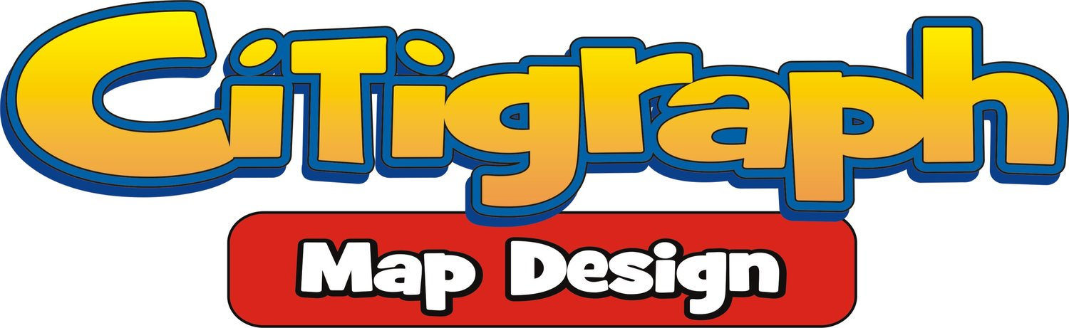 Citigraph Theme Park Map Design