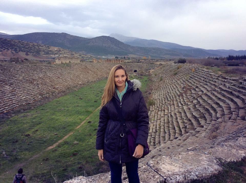 Sarah in Turkey