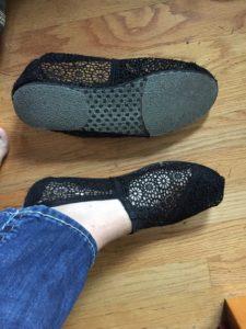 Travel Hack- Making Tom's Shoes Safer