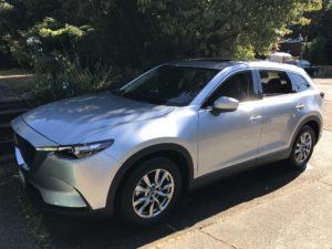 Sarah's New Car, Mazda CX-9