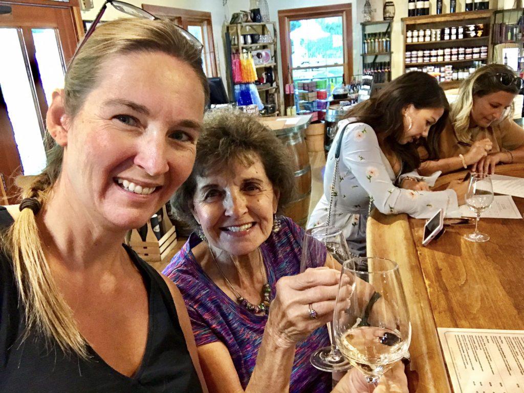 Sarah Murdoch and Rita Murdoch, Cline Cellars