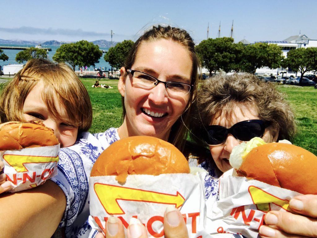 Sarah Murdoch and family, San Francisco