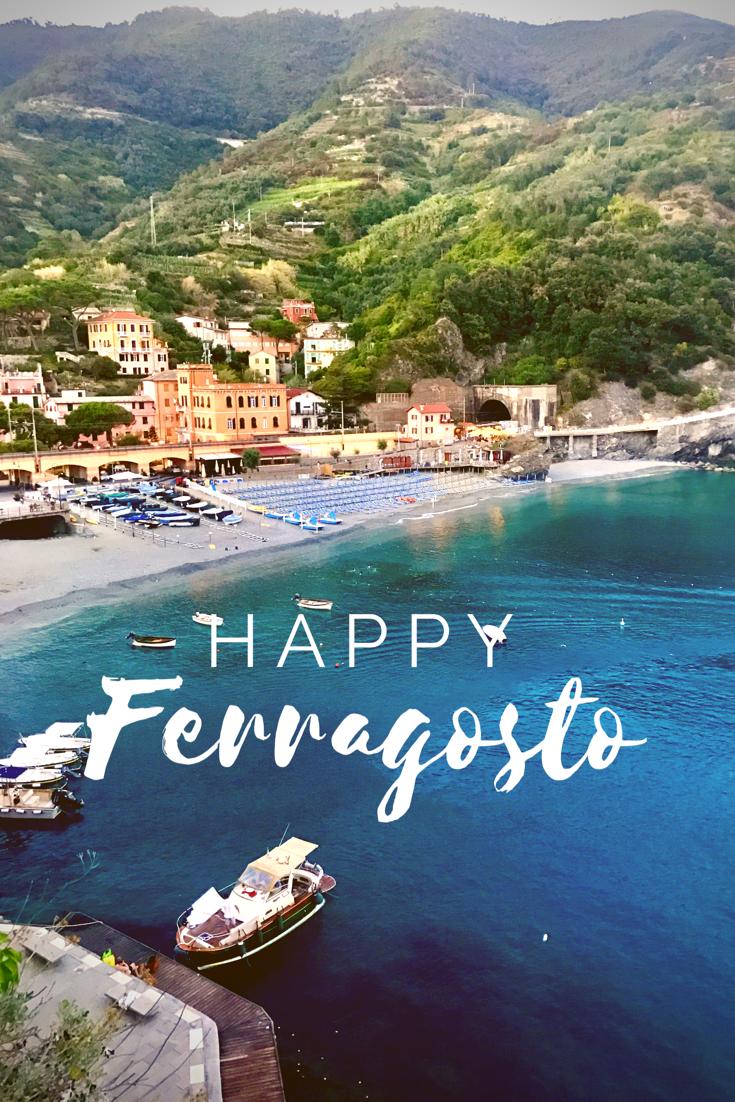 Ferragosto, Monterosso, Cinque Terre, Italy