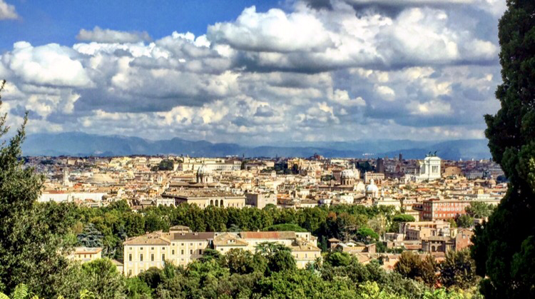 Rome from Gianicolo