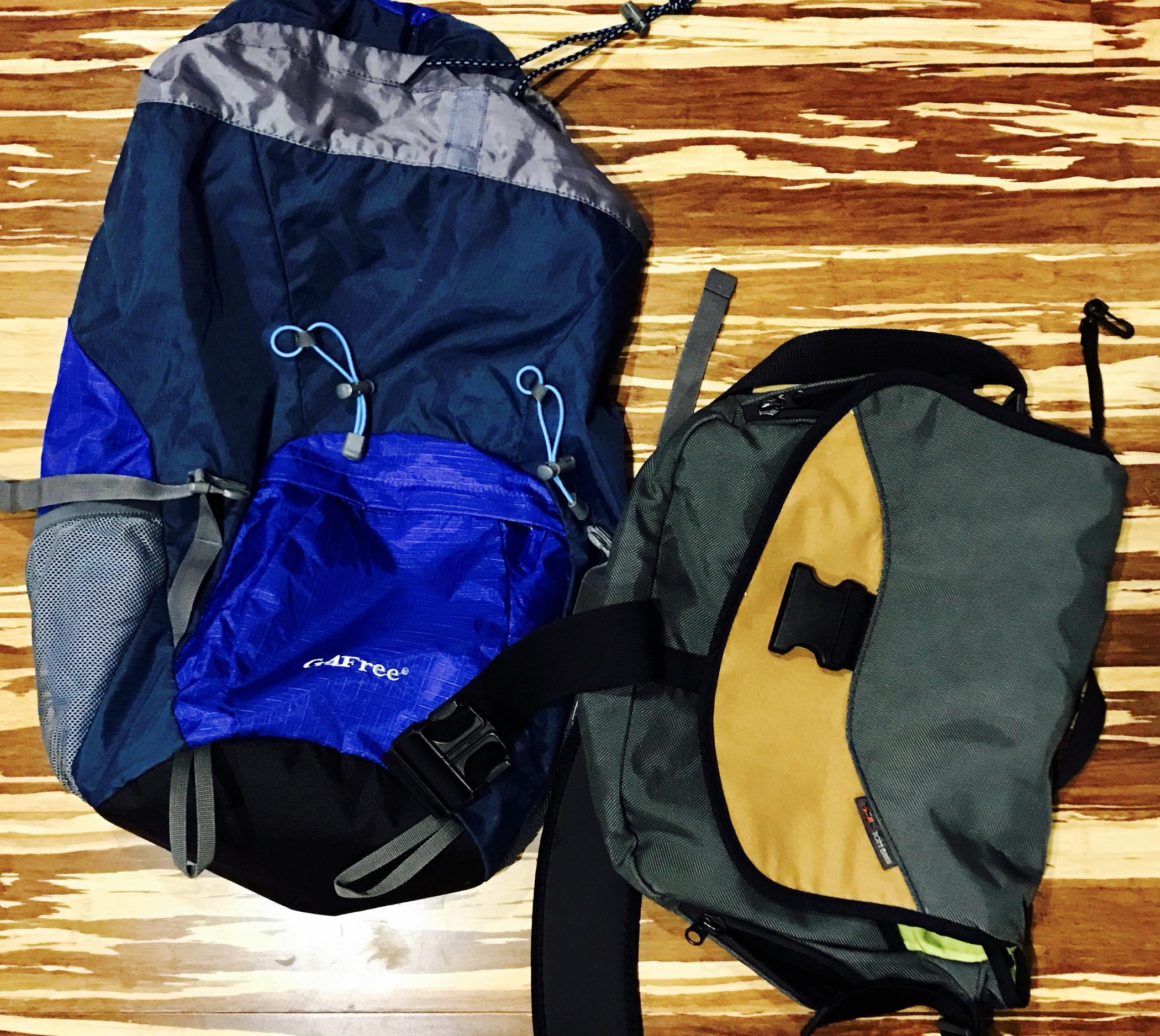 G4free backpack