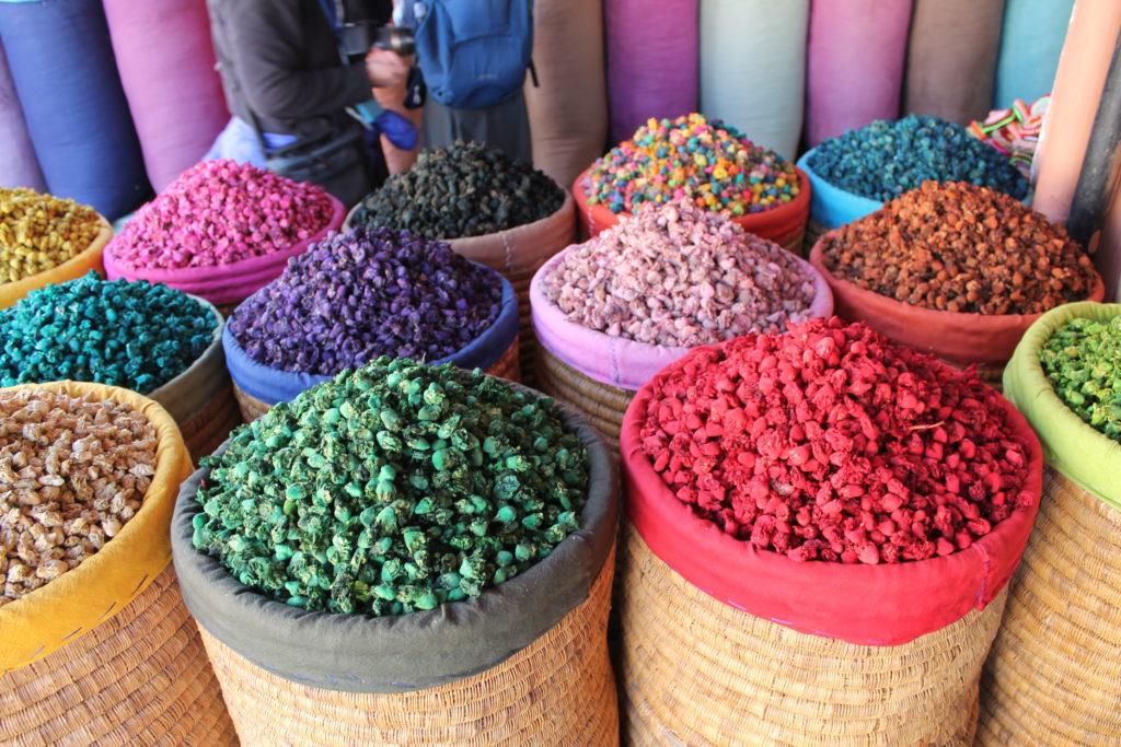 Marrakech colors