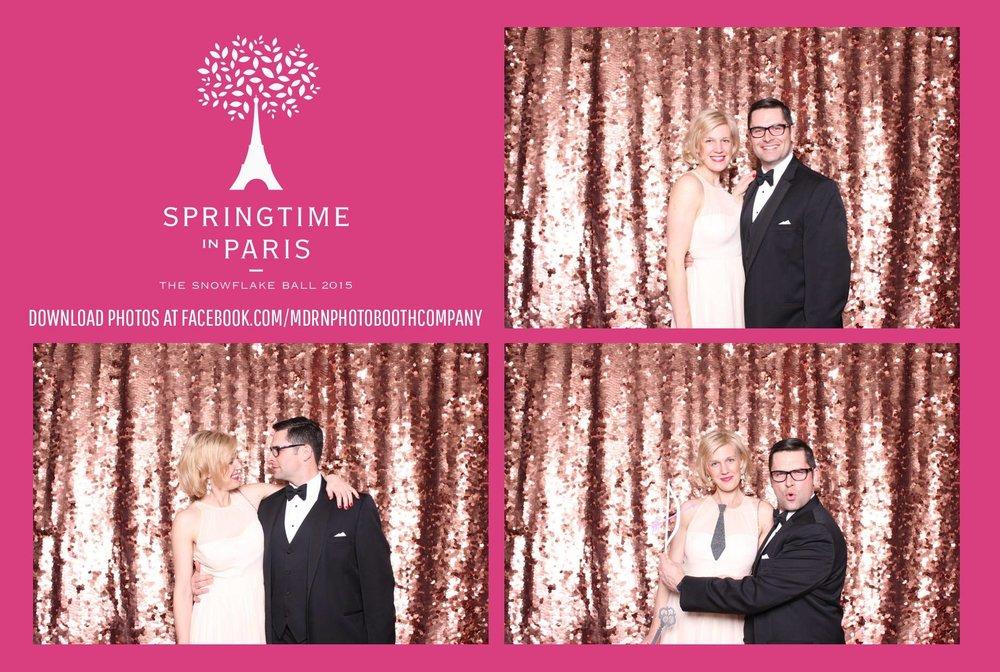 Valetines Day Snowflake Ball 2015 Photobooth