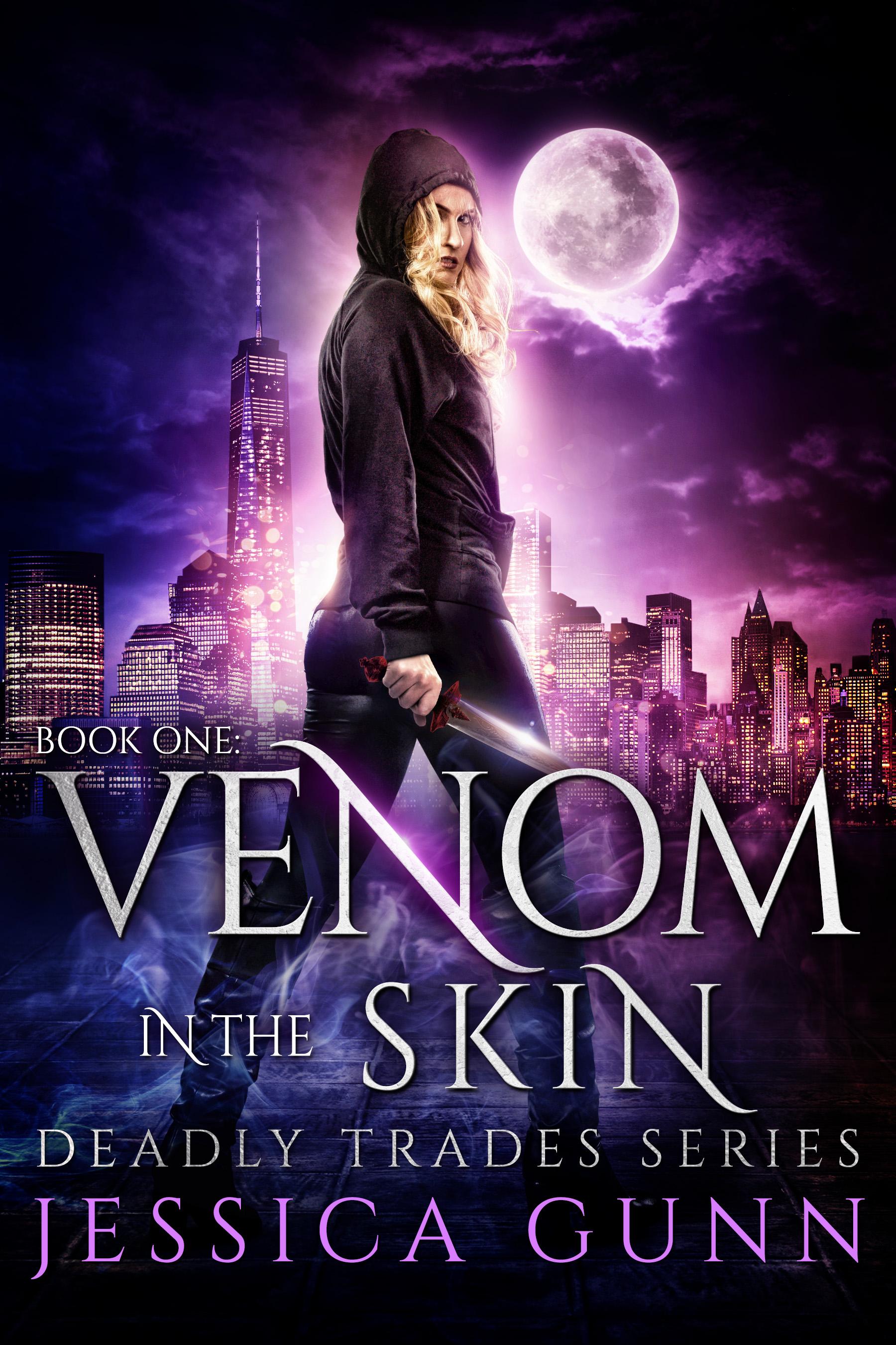 Venom In The Skin Jessica Gunn Author