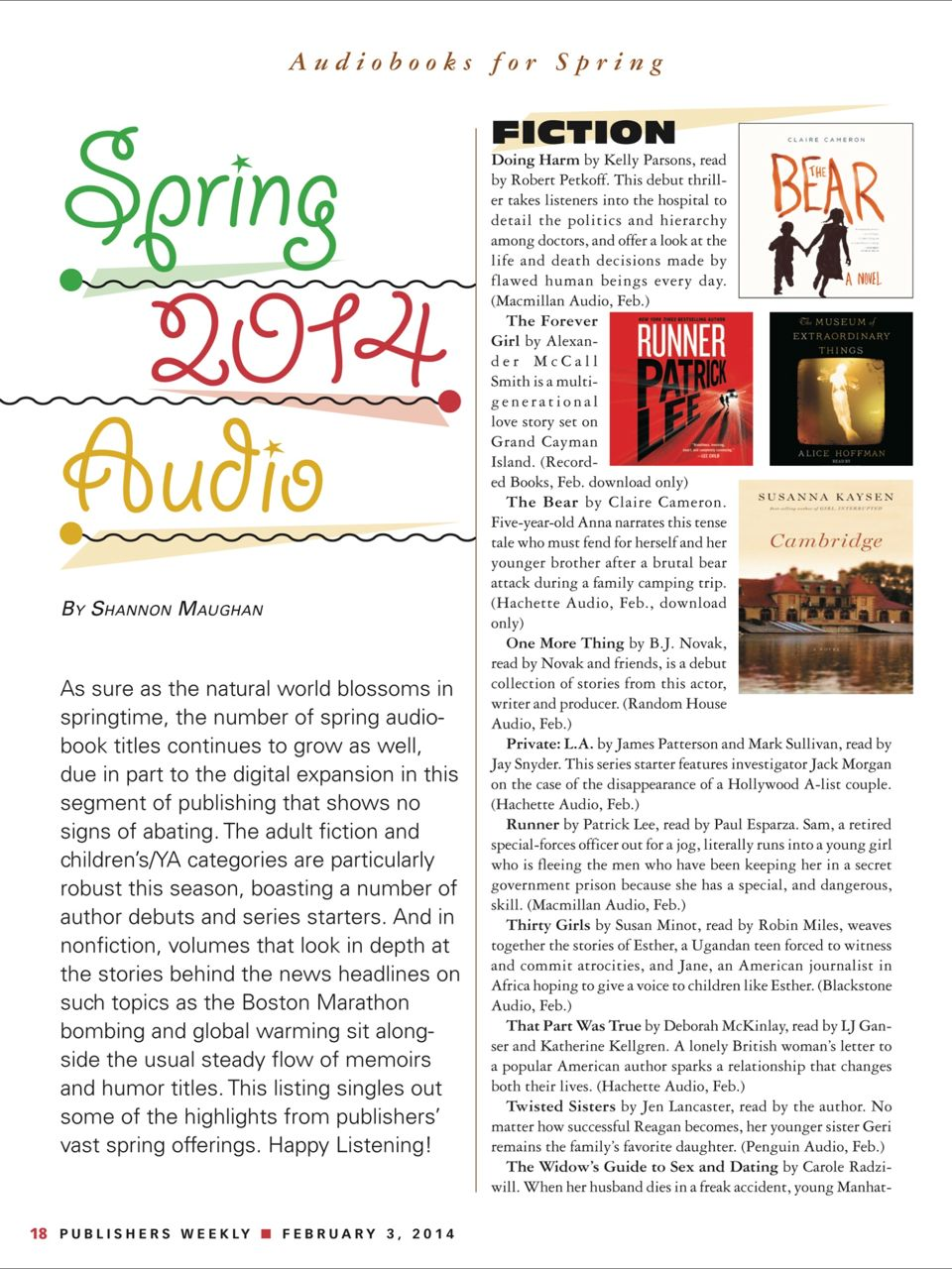 the-bear-audio-book-publishers-weekly