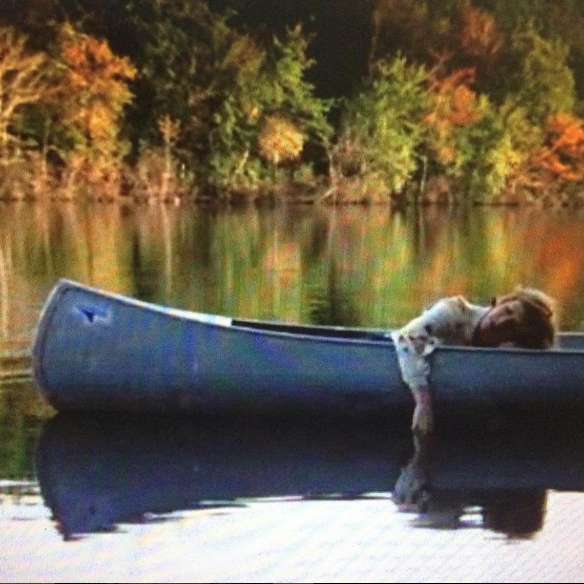 Screen shot from Friday the 13th, 1980