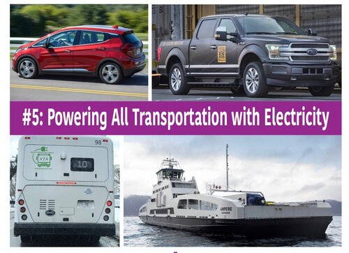 CS #5-Powering All Transportation with Electricity