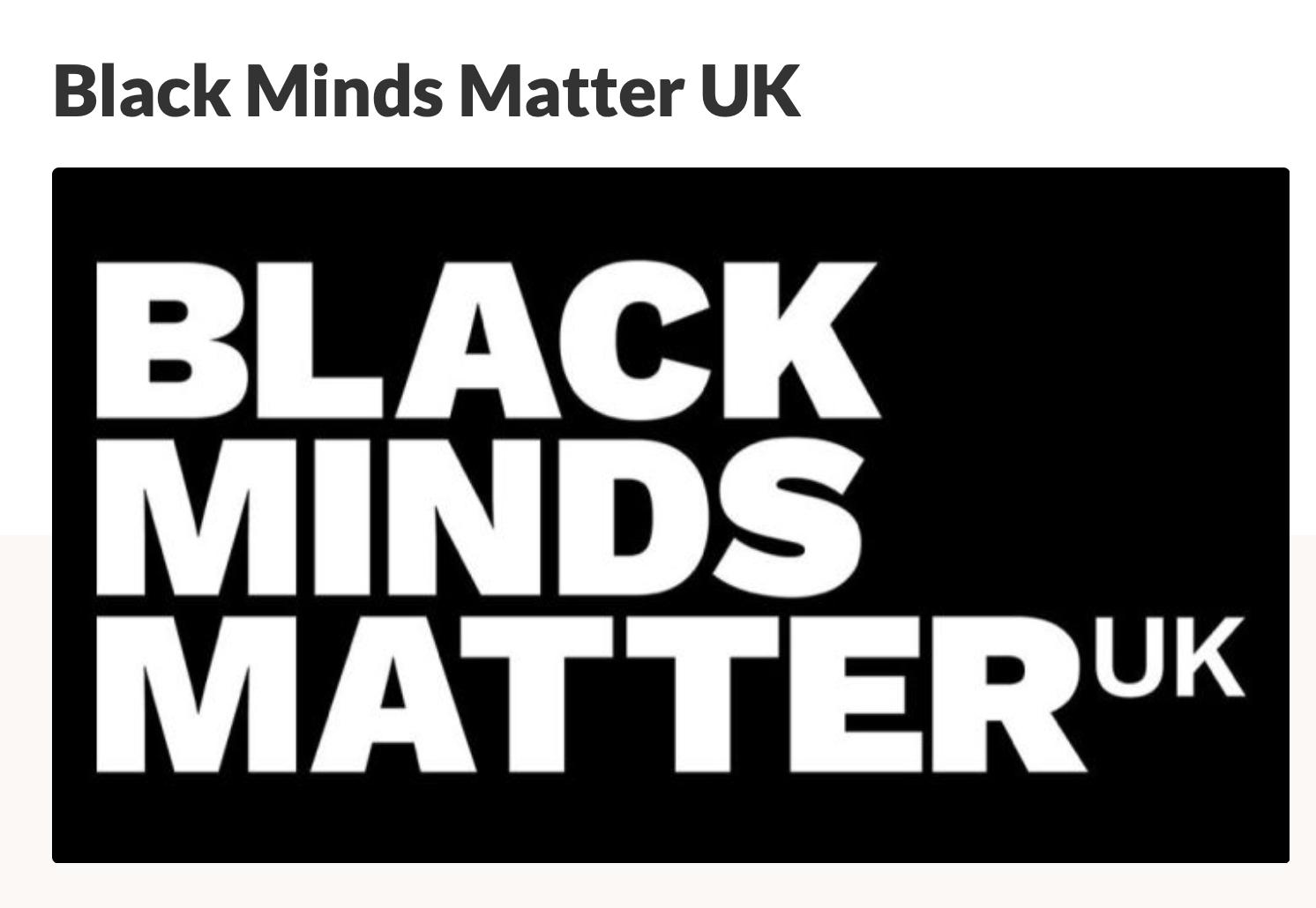 Sarora Knots Supporting Black Mind's Matter U.K — Sarora Knots
