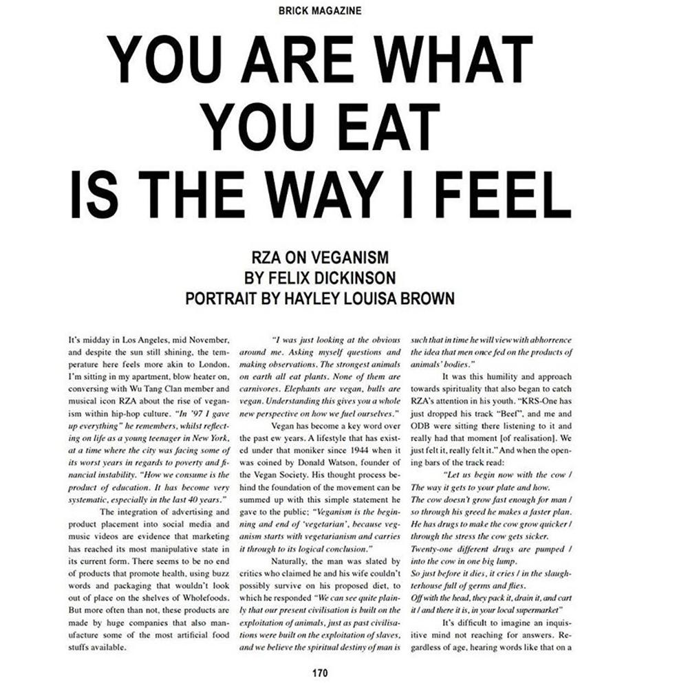 NQ London talk vegan with Felix Dickinson