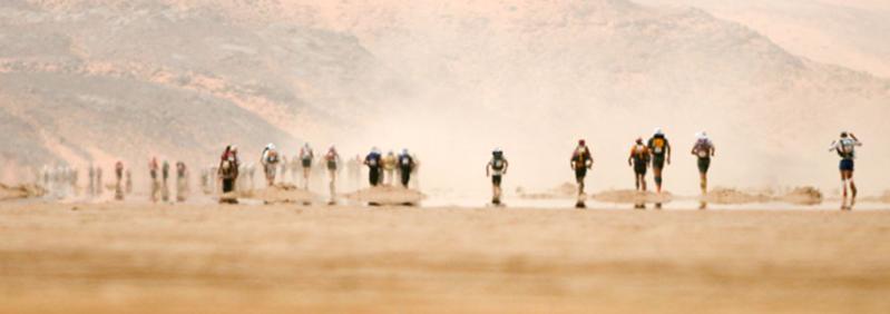 The Marathon des Sables is an ultra marathon