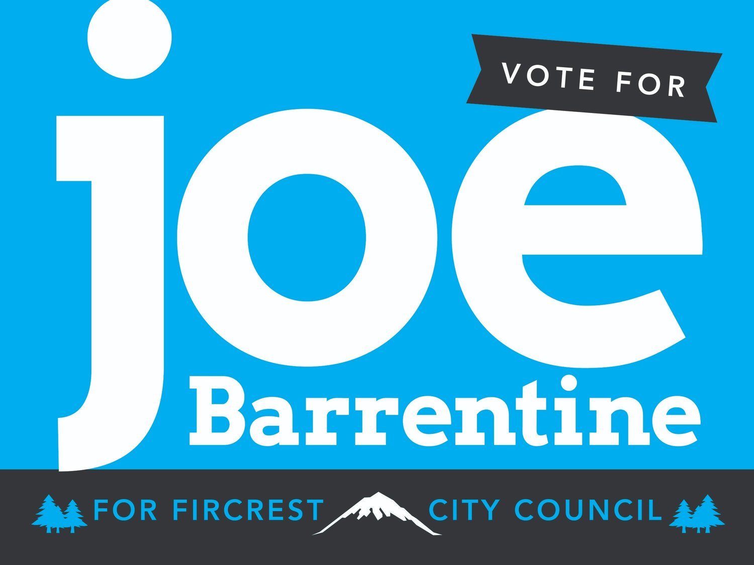 Vote for Joe!