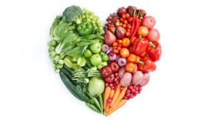 Fruit and Veggie Heart