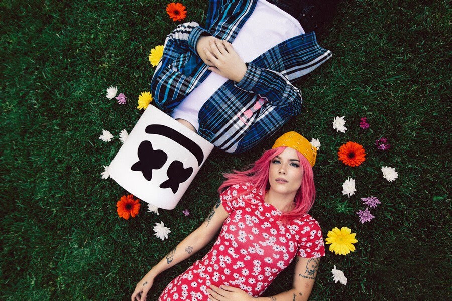 "Marshmello and Halsey join forces for new single ""Be Kind"""