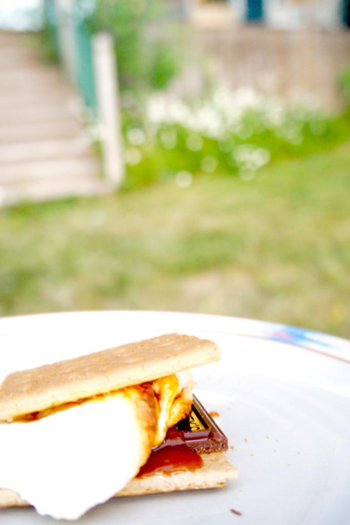 Salted Caramel S'Mores | Soymilkandhoney.com
