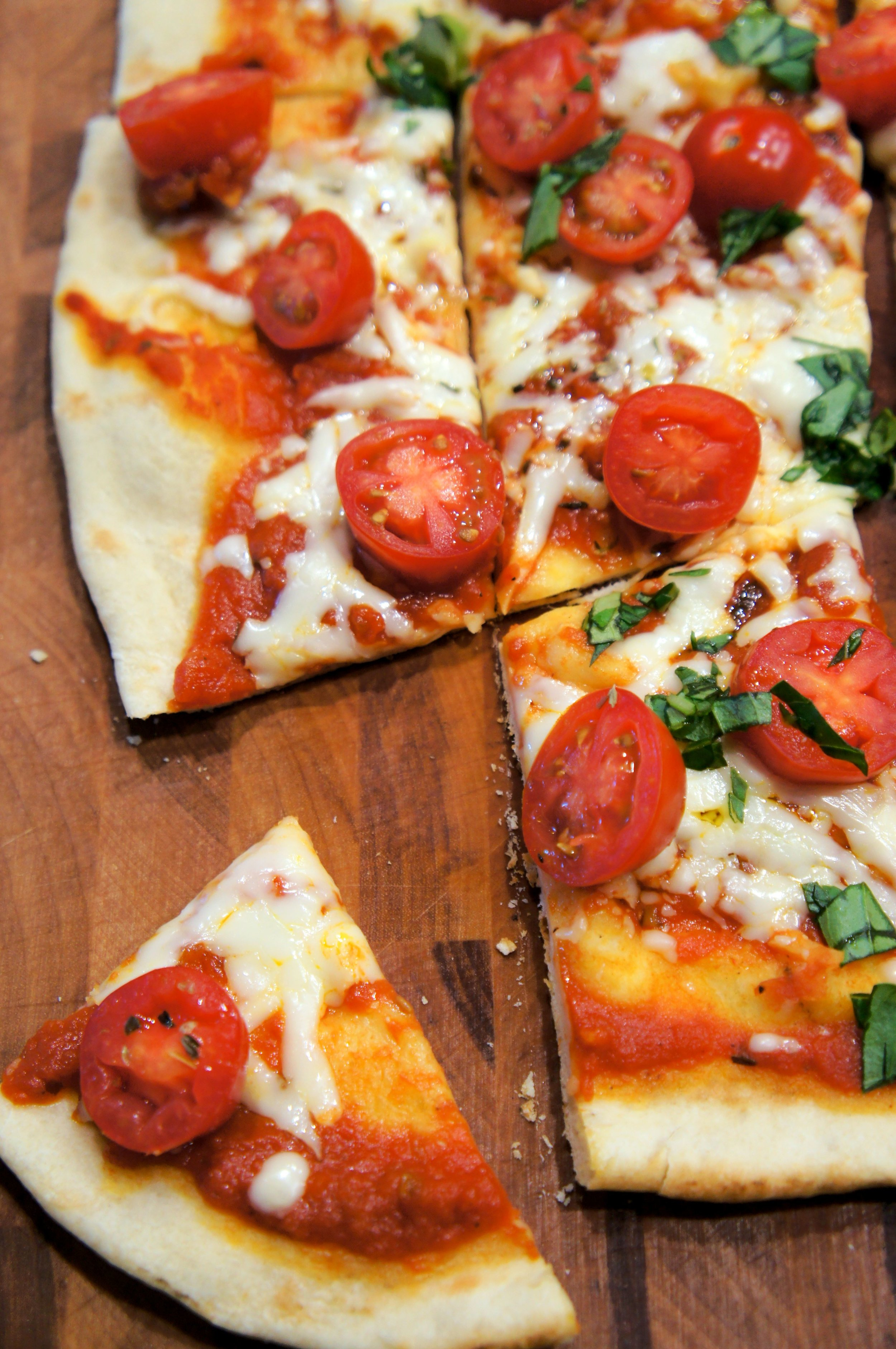 Grilled Thin Crust Pizza