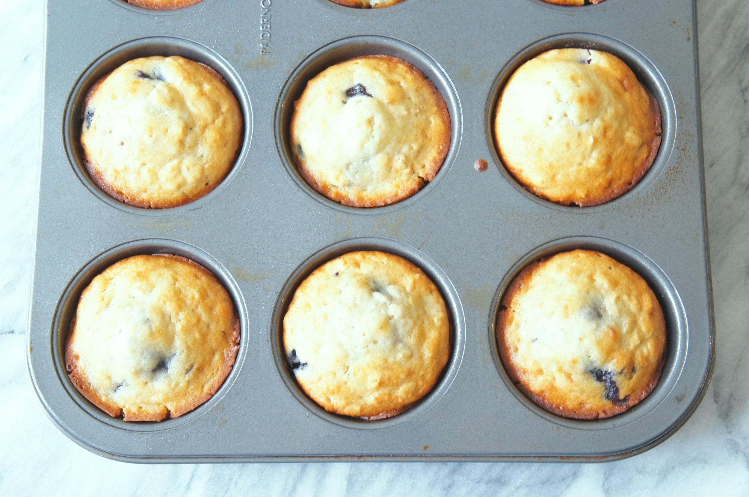 Kid-Friendly Blueberry Muffins