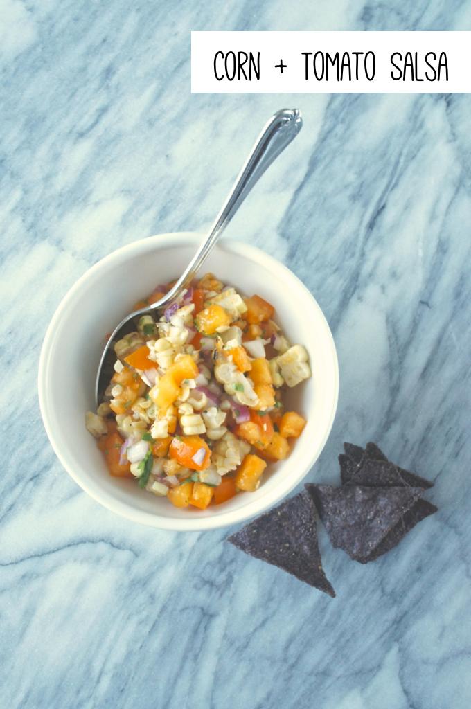 Corn and Tomato Salsa